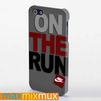 Nike On The Run iPhone 4/4S, 5/5S, 5C Series Full Wrap Case
