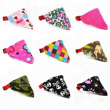 9 Styles of Super Cute Dog & Cat Scarf Collars