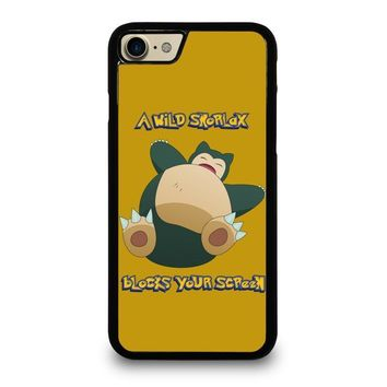 snorlax pokemon case for iphone ipod samsung galaxy  number 1