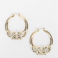 Hullabaloo X Urban Renewal Sphinx Doorknocker Earring - Urban Outfitters