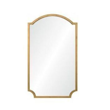 Distressed Gold Leaf Mirror by Mirror Image Home