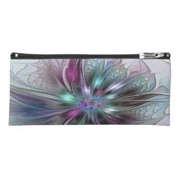 Colorful Fantasy, abstract and modern Fractal Art Pencil Case