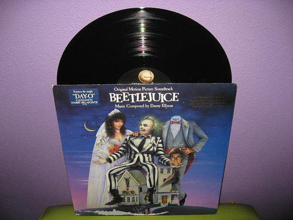 Rare Vinyl Record Beetlejuice Original From Justcoolrecords On