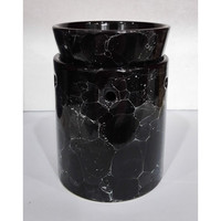 Beautiful Marble Black Tart Warmer