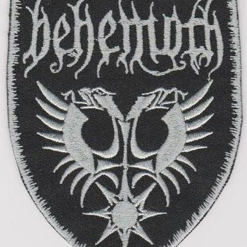 Behemoth Iron-On Patch Shield Logo