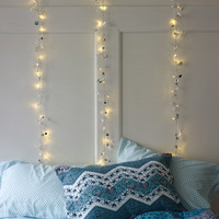 Sequin Garland String Lights