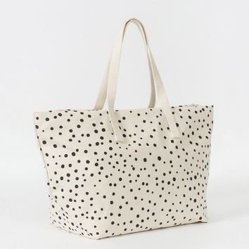 BAGGU Weekend Travel Bag Paint Dot
