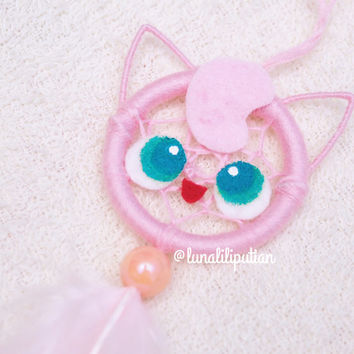 Mini jiggly puff Dreamcatcher