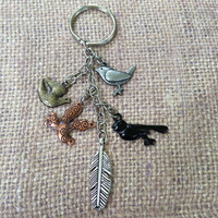 Bird of a Feather Keychain