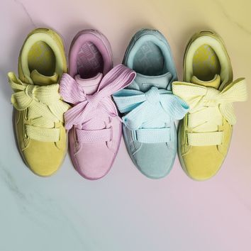 puma suede heart reset sport casual shoes sneakers