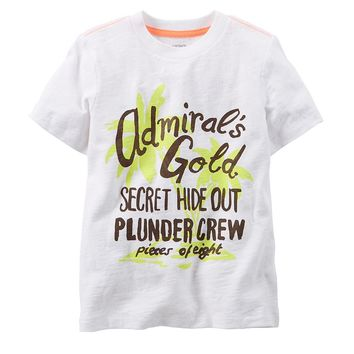 Carter's Nautical Graphic Tee - Baby Boy, Size:
