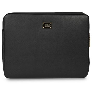 Macbeth Collection Kensington Padded Laptop Case - Fits Up To 15.6 (Black)