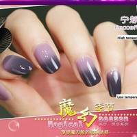 Temperature change color nail polish /As the temperature change color/Environmental nail polish 12ml = 1958044228