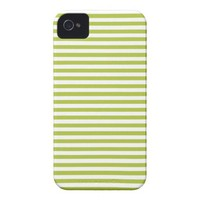 Acid And White Stripes iPhone 4 Case-Mate Case from Zazzle.com