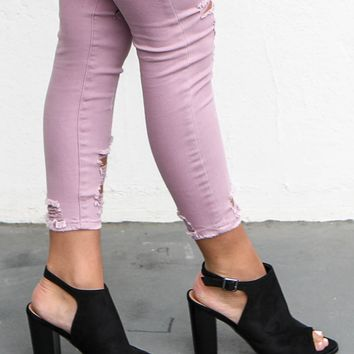 Stop And Stare Black Peep Toe Booties