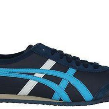 onitsuka tiger by asics mens shoes mexico 66 navy blue  number 1