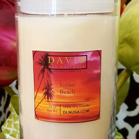 Sunset Beach Soy Candles~LIMITED TIME ONLY