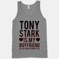 Tony Stark Is My Boyfriend