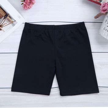 Kids Teen Soft Breathable Shorts Girls Badminton Biker Shorts Short Pants Children Bottoms Clothes for Sports Workout 8-14 Years