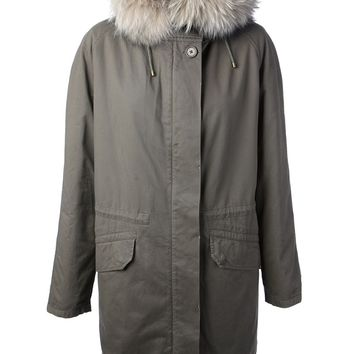 Army By Yves Salomon Lined Parka Coat