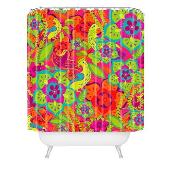 Aimee St Hill Birds In Hiding Shower Curtain