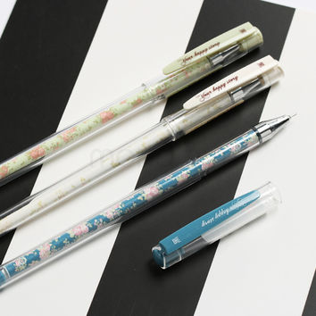 LM282 0.55mm Korean Cute Gel Pen Japanese Kawaii School Office Supplies Stationery For Kids Student Gift
