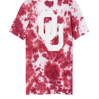 University of Oklahoma Perfect V-Neck Pocket Tee - PINK - Victoria's Secret