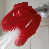 3D Printed T-Rex Shower Head