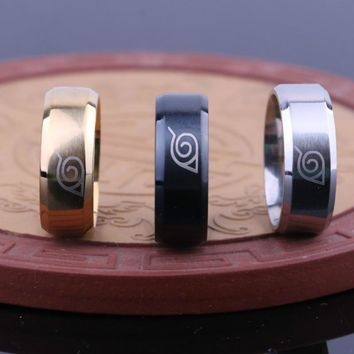 Stainless Steel Ring naruto ring