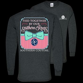 Southern Couture Classic Tied Together Southern Roots Long Sleeve T-Shirt