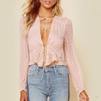 DULCE DRAWSTRING TOP
