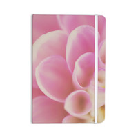 """Laura Evans """"Up Close & Personal"""" Pink Floral Everything Notebook"""
