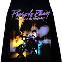 Prince Purple Rain Album Cover Photo Print Skirt