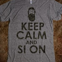 Keep Clam and Si On
