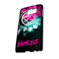 Blink 182 Logo (3) Samsung Galaxy S6 Case