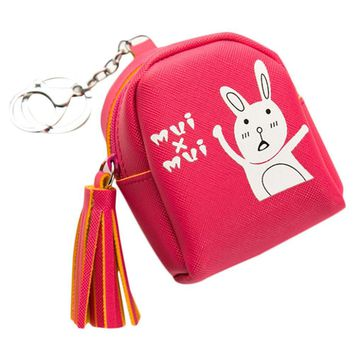 Women Girls Cute Fashion Cartoon Animal Mini Coin Purse Women Change Wallet Kids Bag Pouch Key Holder Purse For Women