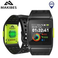 Makibes BR1 GPS SPORTS Watch Smart Watch Bluetooth Strava Color Screen Multisport Wristwatch Men Women Fitness Watch Smartwatch