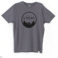 tentree Capilano T-Shirt for Men in Heather Ash MSCAP-HASH