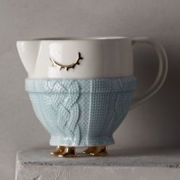 Cozy Carolers Sugar & Creamer by Anthropologie