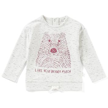 Miles Baby Baby Girls 12-24 Months Bear 3/4-Sleeve Top | Dillards