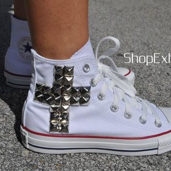 True Story-Cross Studded Converse