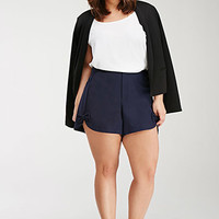 Bow-Front Shorts
