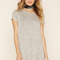 Marled T-Shirt Dress