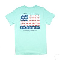 Guys Sea Flag Tee by Simply Southern