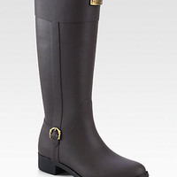 Belsize Beckley Faux Leather Rain Boots - Zoom - Saks Fifth Avenue Mobile