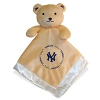 Baby Fanatics New York Yankees Snuggle Bear Blanket (Ynk Team)