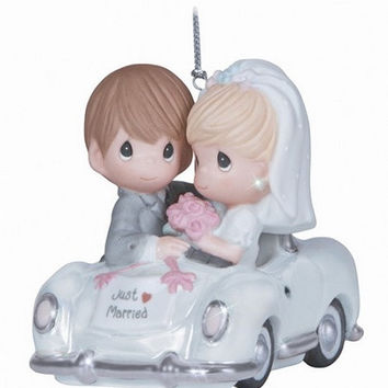 Precious Moments Just Married Hanging Ornament