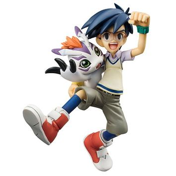 MegaHouse G.E.M. Series Digimon Joe Kido & Gomamon