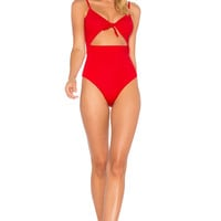 Mara Hoffman Kia One Piece in Red