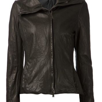 Incarnation Distressed Biker Jacket - H. Lorenzo - Farfetch.com